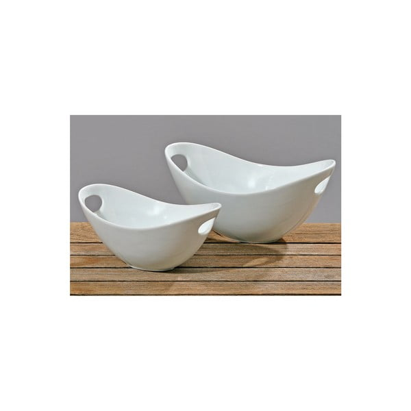 Komplet 2 misek Bowl White