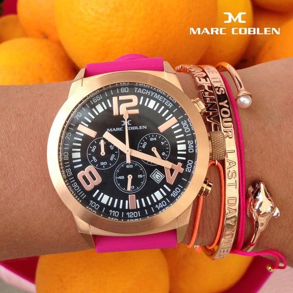 Zegarek damski Marc Coblen z dodatkowym paskiem i obręczą P32