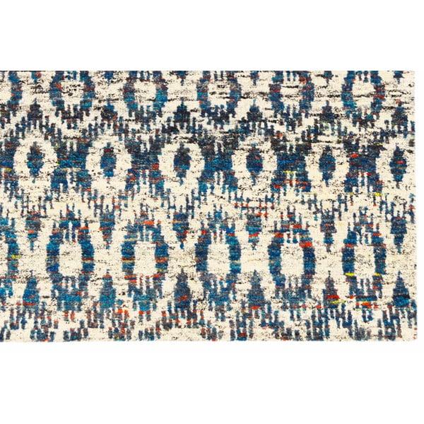 Ręcznie tkany dywan Ikat H7 Blue, 120x180 cm