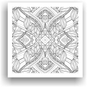Obraz do kolorowania 74, 50x50 cm