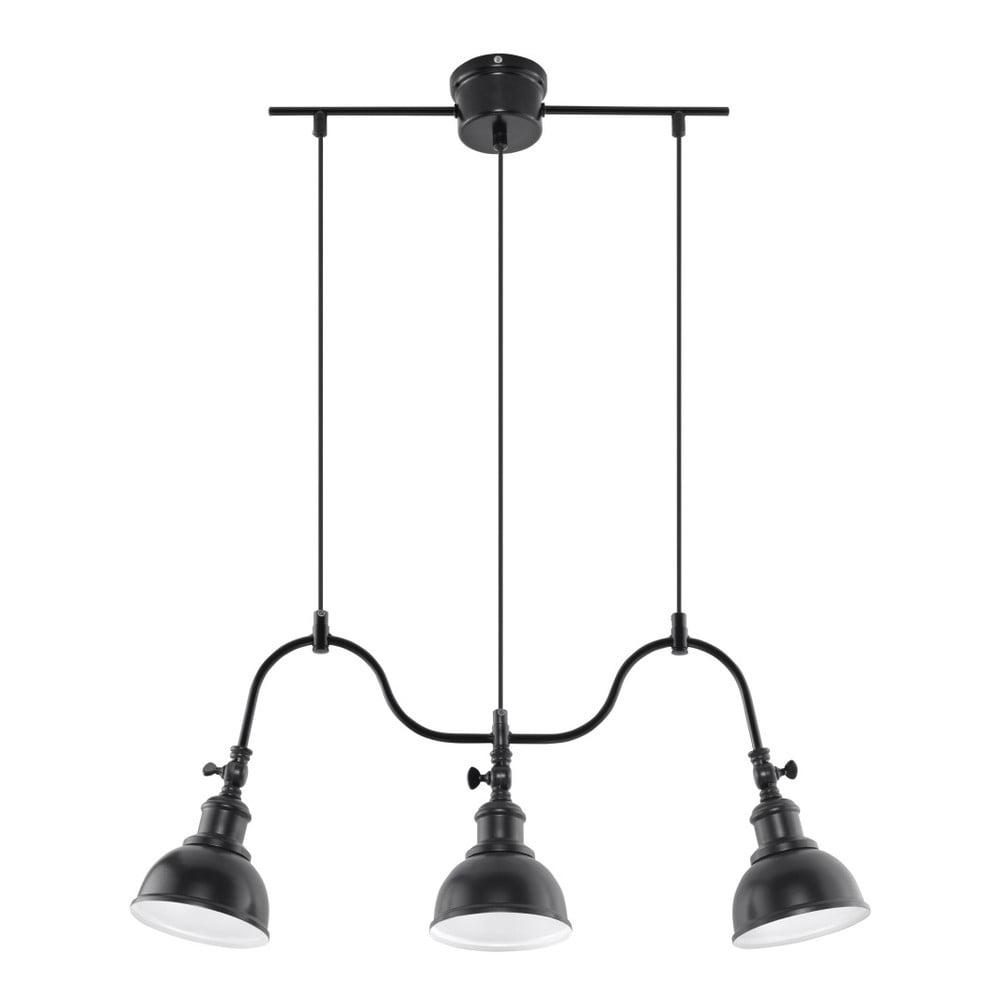 Czarna lampa wisząca Nice Lamps Isola 3