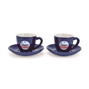 Zestaw 2 filiżanek na kawę Vespa