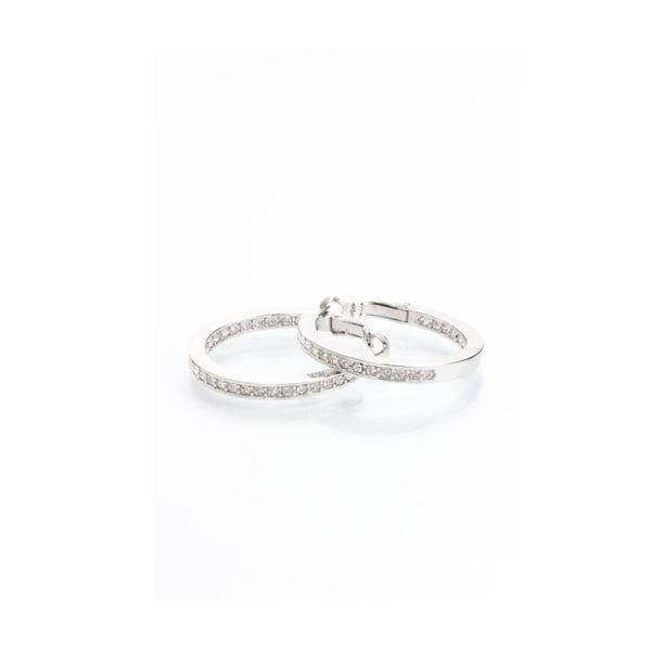 Kolczyki z kryształami Swarovski Elements Laura Bruni Infinity,33cm