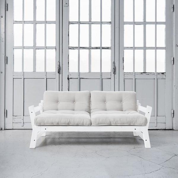 Sofa rozkładana Karup Step White/Vision