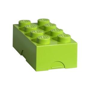 Jasnozielony pojemnik śniadaniowy LEGO®