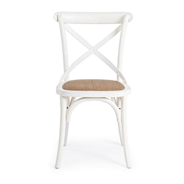 Białe krzesło Bizzotto Cross