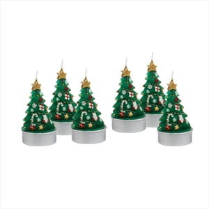 Zestaw 6 podgrzewaczy Butlers Christmas Tree