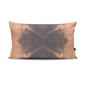 Poduszka Antimony I Grey Pink, 47x28 cm