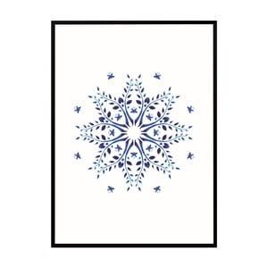 Plakat Nord & Co Sparkling Snow, 21x29 cm