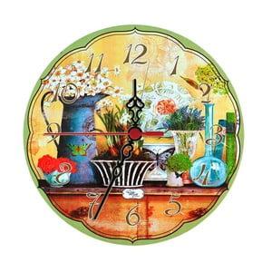 Zegar ścienny Herbs, 30 cm