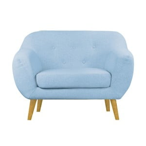 Niebieski fotel Helga Interiors Oslo