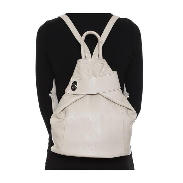 Skórzany plecak Anna Luchini 1083 Beige