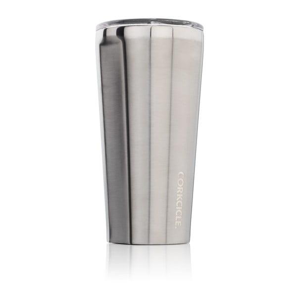Srebrny kubek termiczny Corkcicle Tumbler, 260 ml