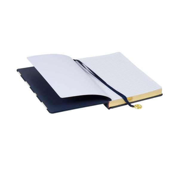 Zestaw: 2 notesy, bloczek i naklejki Navy Blush