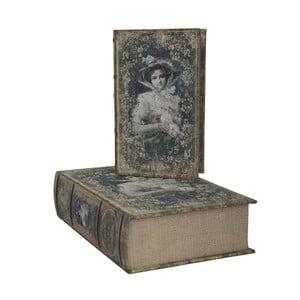 Zestaw 2 pudełek Vintage Books