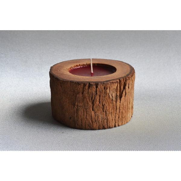 Palmowa świeczka Legno o zapachu owoców egzotycznych, 40 godz.