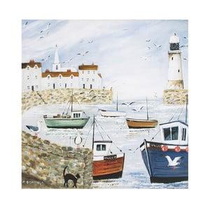 Obraz Graham & Brown Harbourside Type, 50 x 50 cm