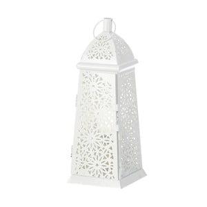 Biała lampka/lampion Unimasa, 12x34 cm