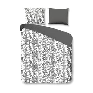 Pościel bawełniana Muller Textiels Curls, 200x200 cm