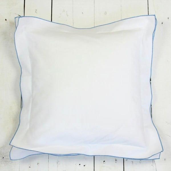 Poszewka na poduszkę Basic Blue, 40 x 40 cm