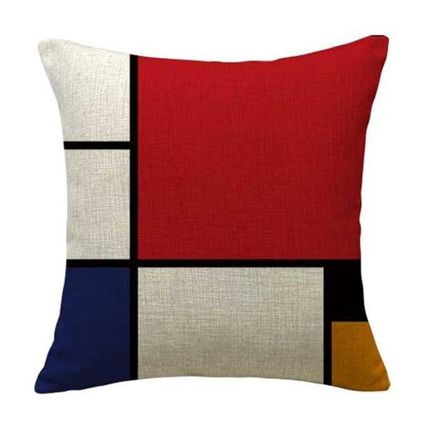 Poszewka na poduszkę Line Colors, 45x45 cm
