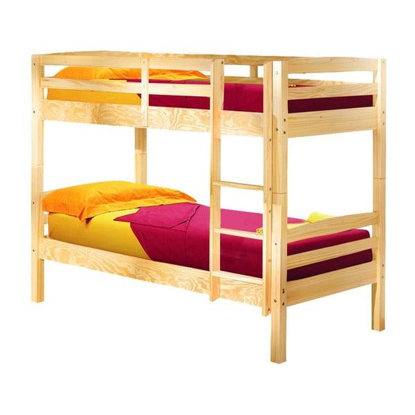 Zestaw 2 łóżek Ricky Natural, 90x190 cm
