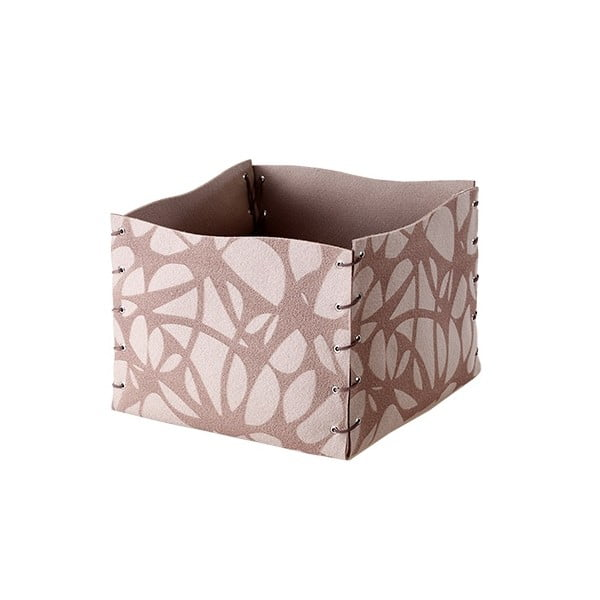 Filcowe pudełko, 25x20 cm, beżowe