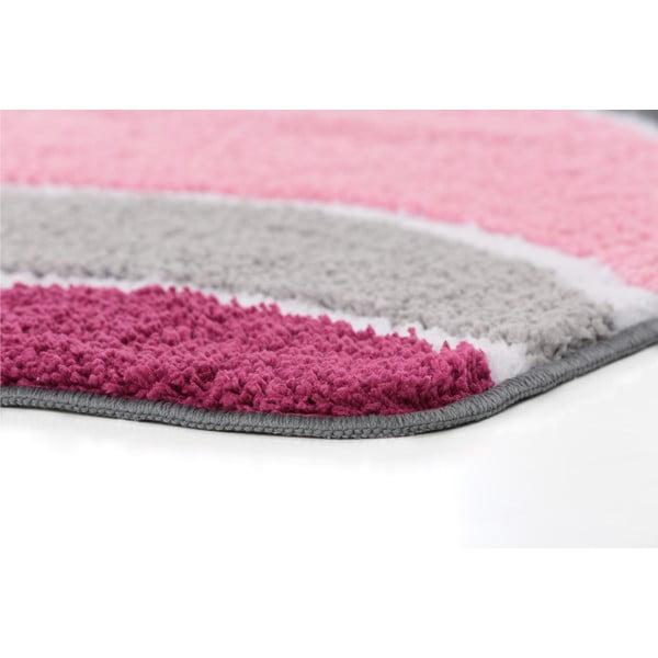 Zestaw 2 dywaników łazienkowych z wcięciem Lift Pink