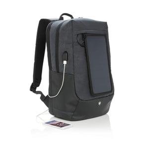 Plecak na notebook z panelem solarnym i 3 wejściami USB Swiss Peak