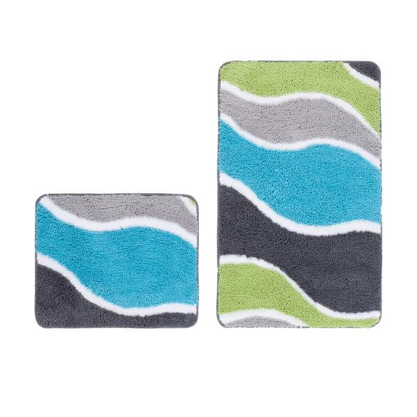 Zestaw 2 dywaników łazienkowych Lift Aqua