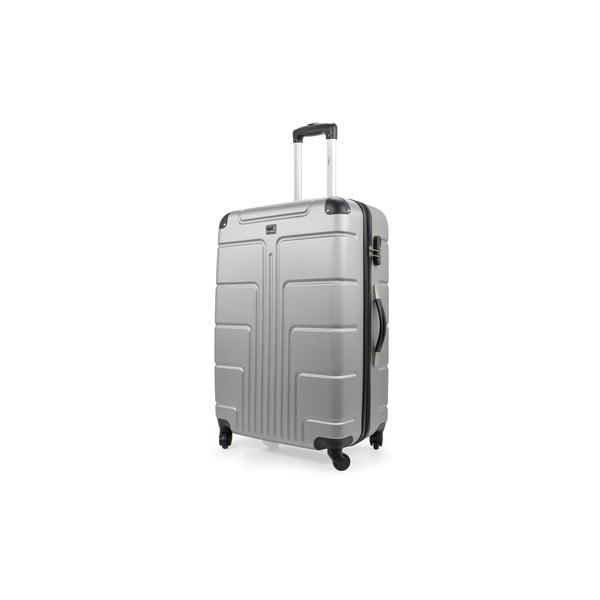 Zestaw 3 szarych walizek na kółkach Blue Star Ottawa