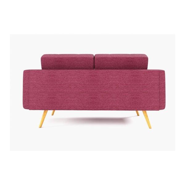 Sofa dwuosobowa New York, różowa