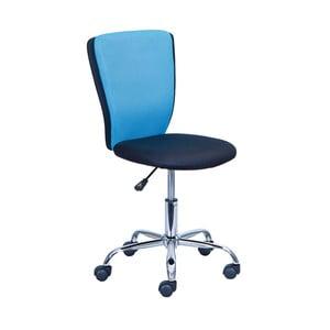 Niebieski fotel biurowy 13Casa Judy
