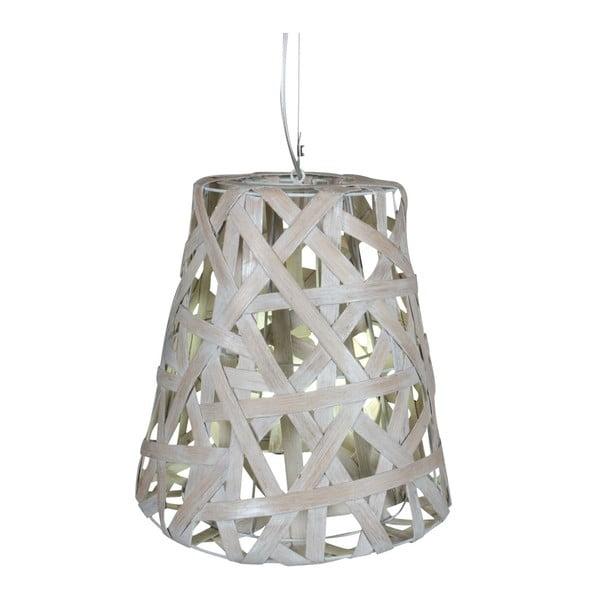 Szara lampa wisząca Naeve Basket