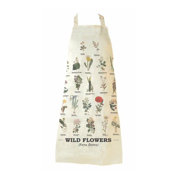 Bawełniany fartuch Gift Republic Wild Flowers