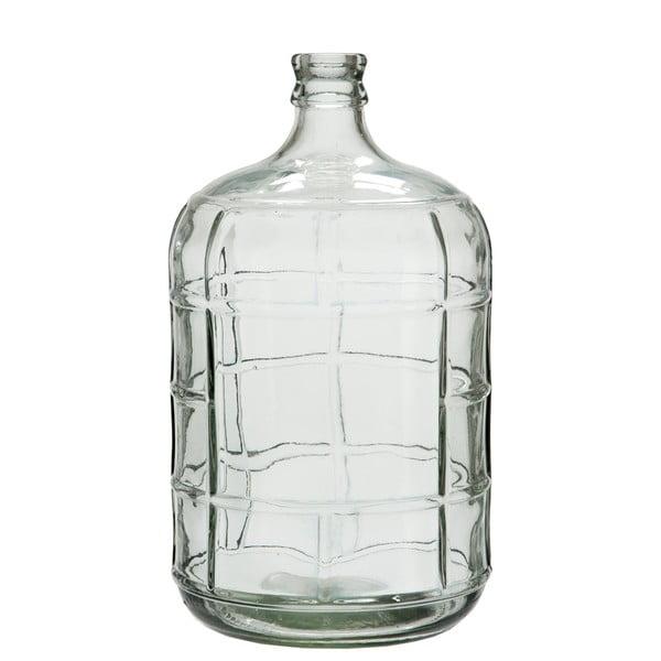 Szklany wazon Check, 42 cm