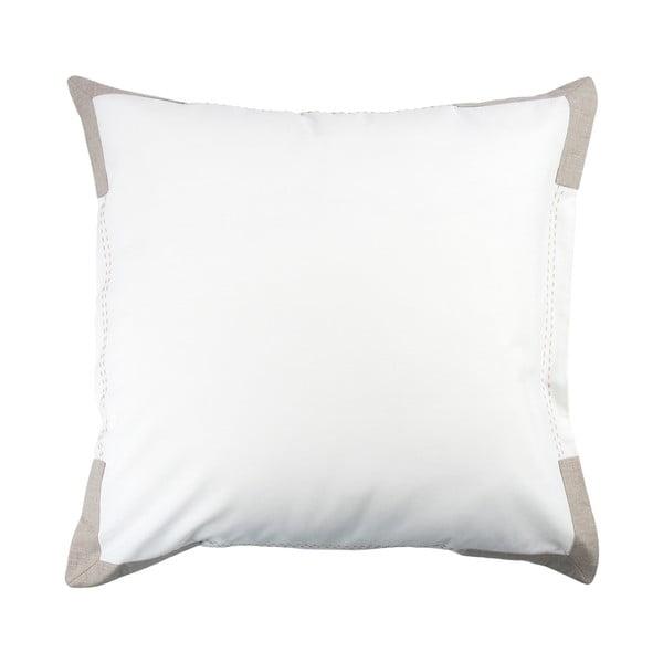 Poszewka na poduszkę Moaré White, 50x50 cm