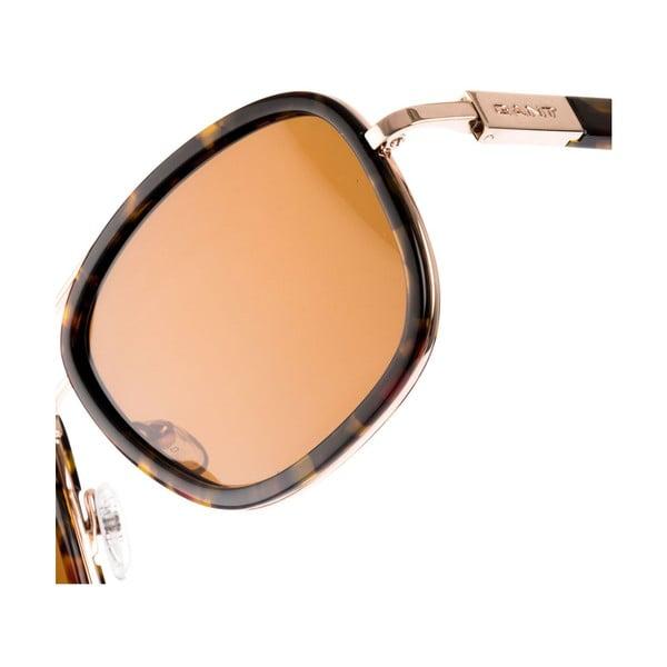 Męskie okulary przeciwsłoneczne GANT Brown Gold