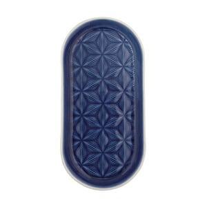 Granatowa taca ceramiczna Kallia