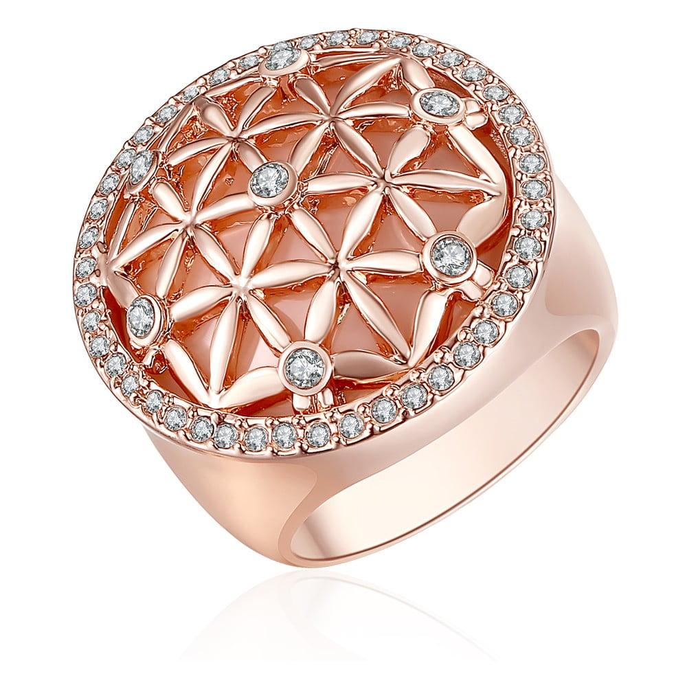 Pierścionek z kryształami Swarovski Lilly & Chloe Clarisse, rozm. 54
