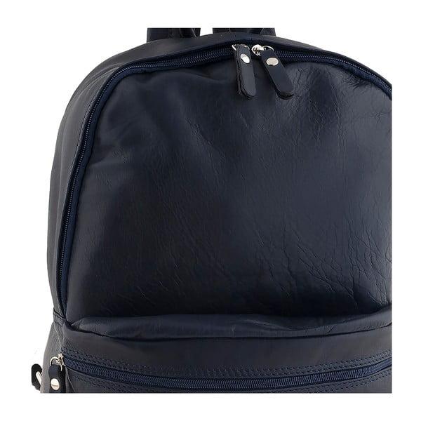Niebieski plecak skórzany Ore Diece Rovigo