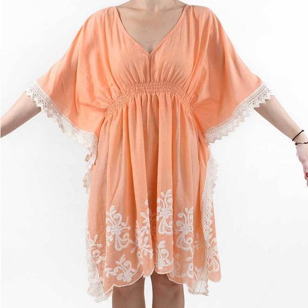 Sukienka plażowa  BLE Inart, pomarańczowa