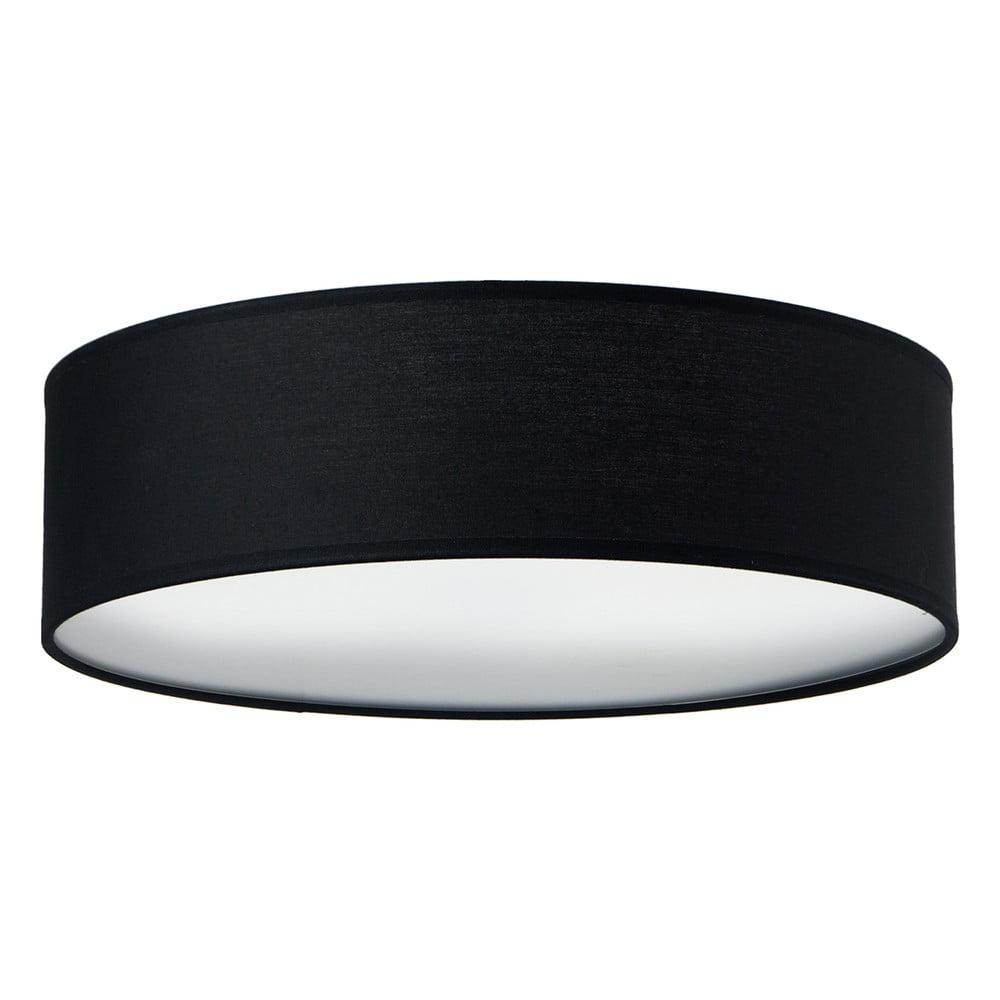Czarna lampa sufitowa Sotto Luce MIKA, Ø 40 cm