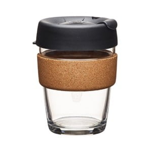 Kubek podróżny z wieczkiem KeepCup Brew Cork Edition Espresso, 340 ml