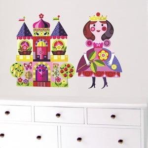 Naklejka Księżniczka i Zamek