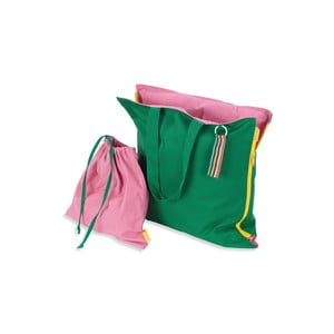 Przenośne siedzisko + torba Hhooboz 100x50 cm, zielone