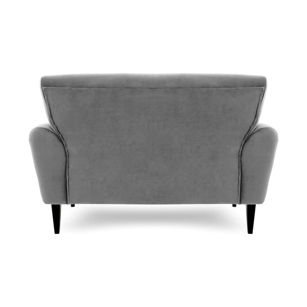 Szara sofa dwuosobowa Vivonita Klara