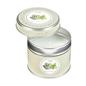 Świeczka zapachowa w puszce Mint & Eucalyptus, czas palenia 32 godzin