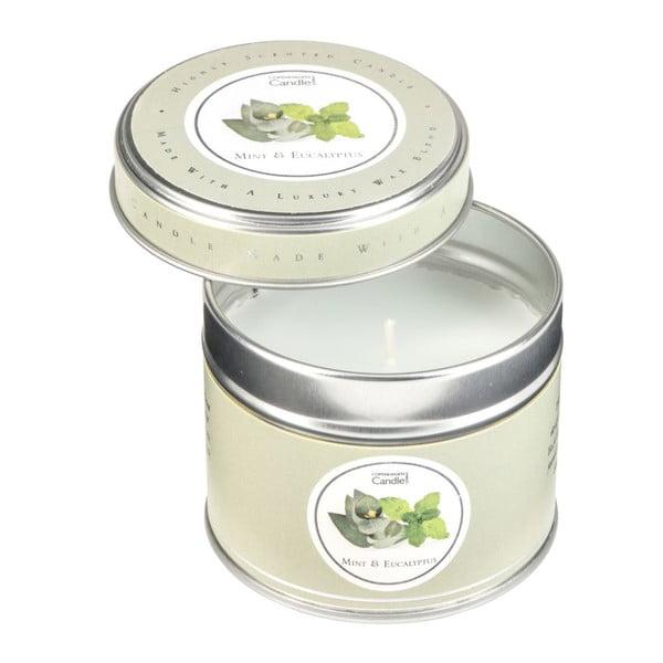 Świeczka zapachowa o zapachu mięty i eukaliptusa Copenhagen Candles Mint & Eucalyptus, 32 godz.