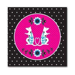 Plakat Różowe szczury